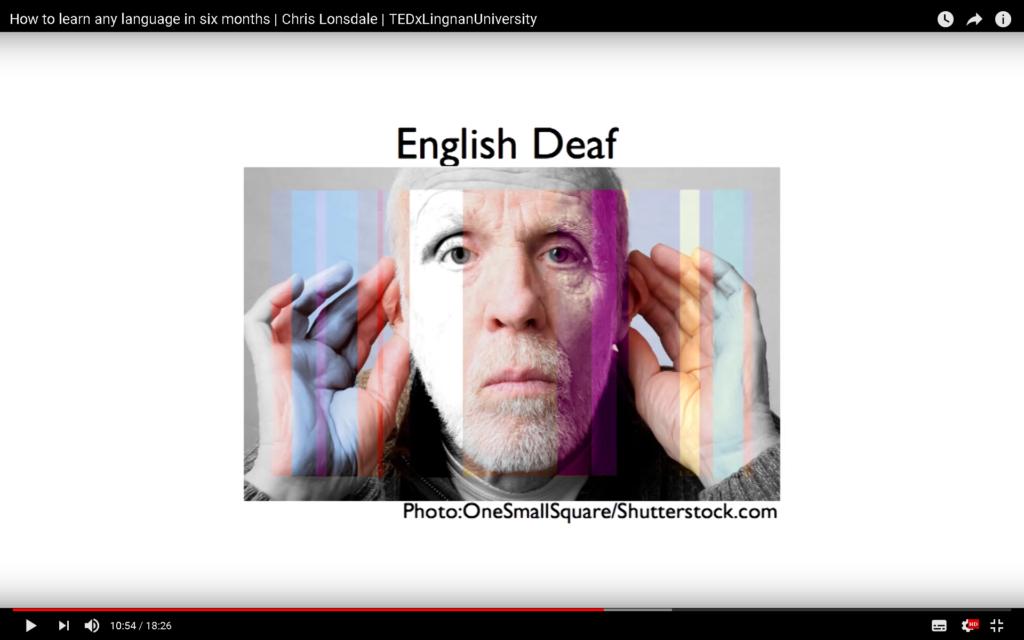 English Deaf