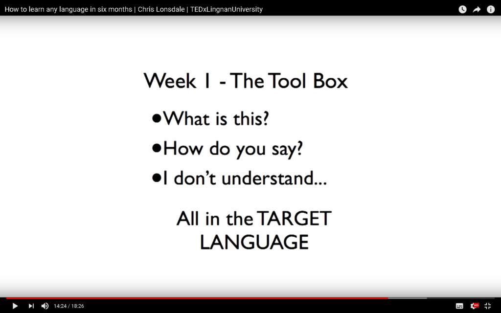 Week1 - The Tool Box