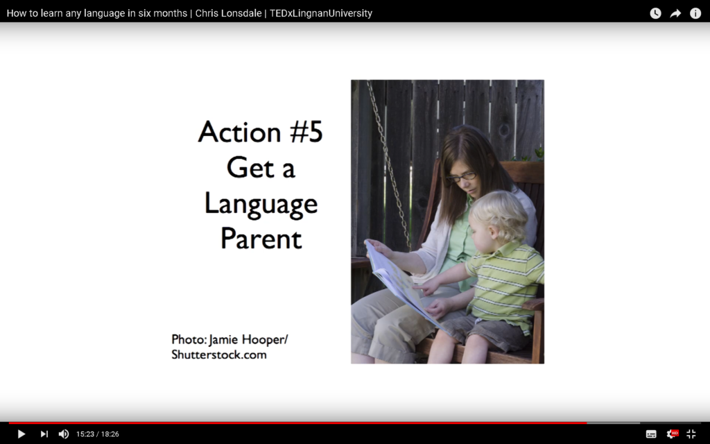 Get a Language Parent