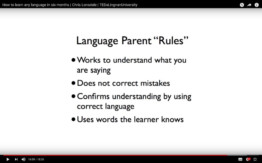 Language Parent