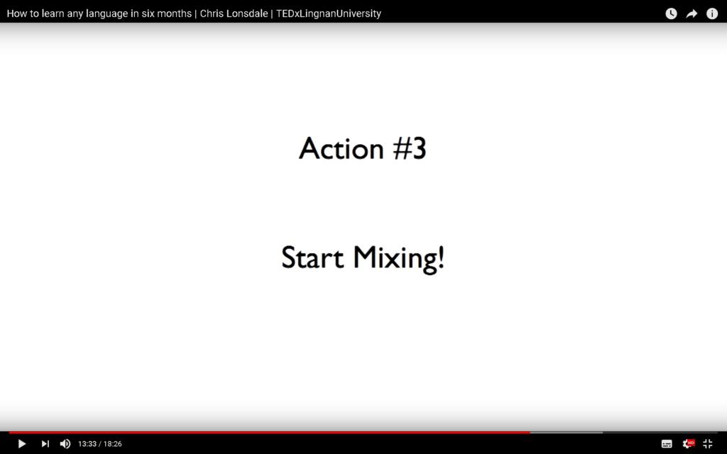 Start Mixing