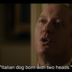 Italian dog born with two heads.