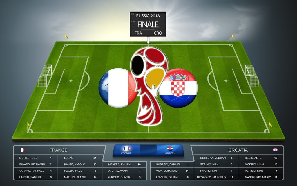 Croatia is on worldcup final against France.