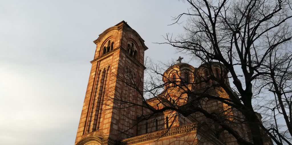 светог Марка(スヴェトグ マルカ。 聖マルコ聖堂)