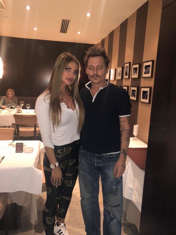 Johnny and Ivana
