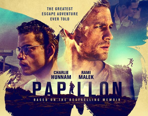 映画で語学学習「Papillon」2017年 アメリカ他映画