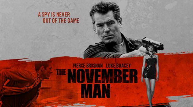 映画で語学学習「The November Man」2014年 アメリカ映画