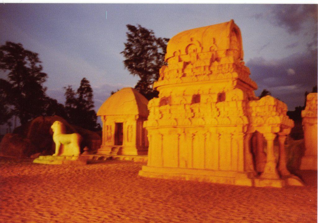 インドの古い寺院