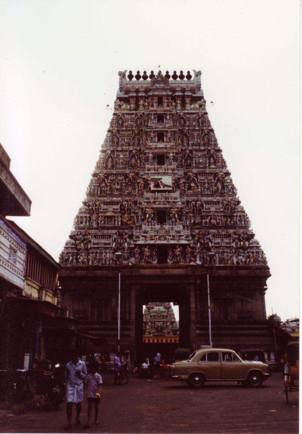 インドのヒンズー寺院